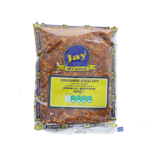 Jay Crushed Chilli 200g - £1.49