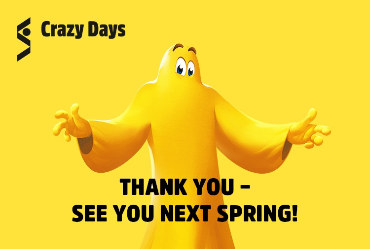 THANK YOU - SEE YOU NEXT SPRING!