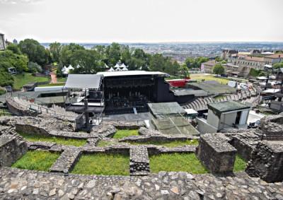 Theatres Romains De Fourviere