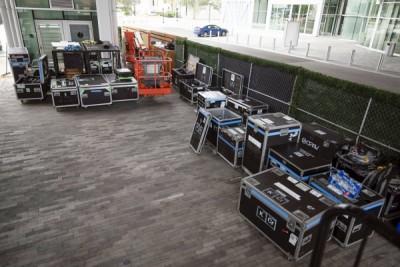 Hurricane moves KC concert