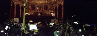 View from the stage in Monte Carlo