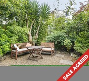 Lovely flat with own entrance and superb garden.