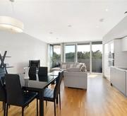 Two bedroom two bathroom flat in luxury development in Chiswick W4