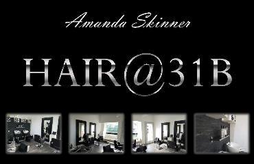 Hair@31B logo