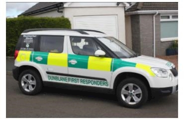 Dunblane First Responders logo