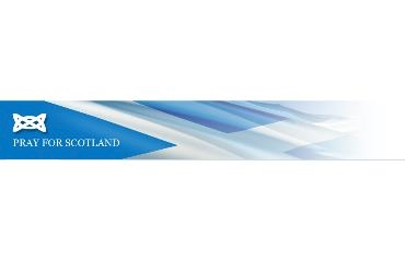 Pray for Scotland logo