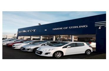 Hardie of Stirling Peugeot logo