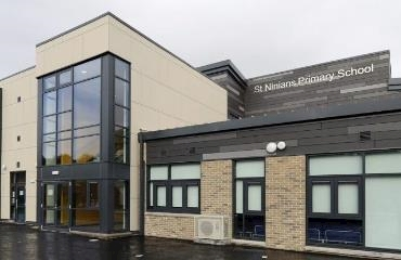 St Ninians Primary School logo