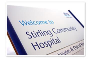 Stirling Community Hospital logo