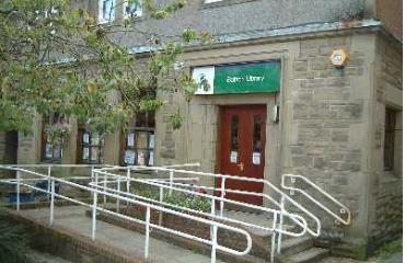Balfron Library logo