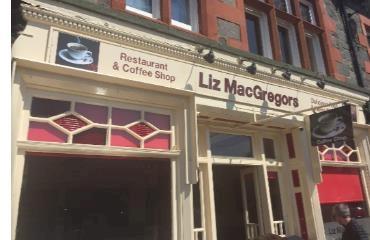 Liz MacGregors Cafe logo