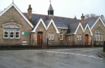 Deanston Primary School logo