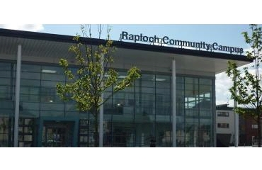 Raploch Community Partnership logo