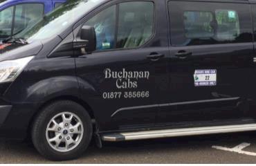 Buchanan Cabs logo