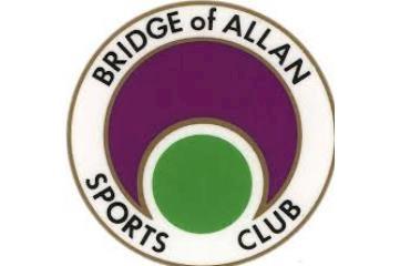 Bridge of Allan Sports Club logo