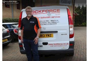 Lockforce Locksmith Glasgow logo
