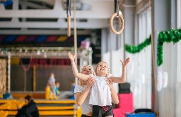 Falkirk School of Gymnastics logo