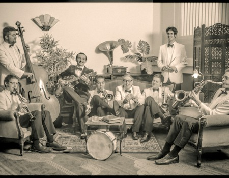 Benoit Viellefon and his orchestra
