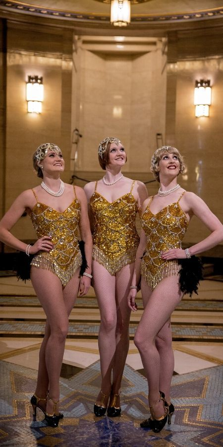 The Gatsby Girls - New Year's Eve at Brasserie Zédel in Piccadilly